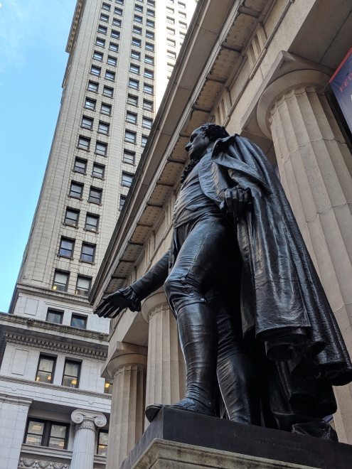 George Washington Federal Hall New York City