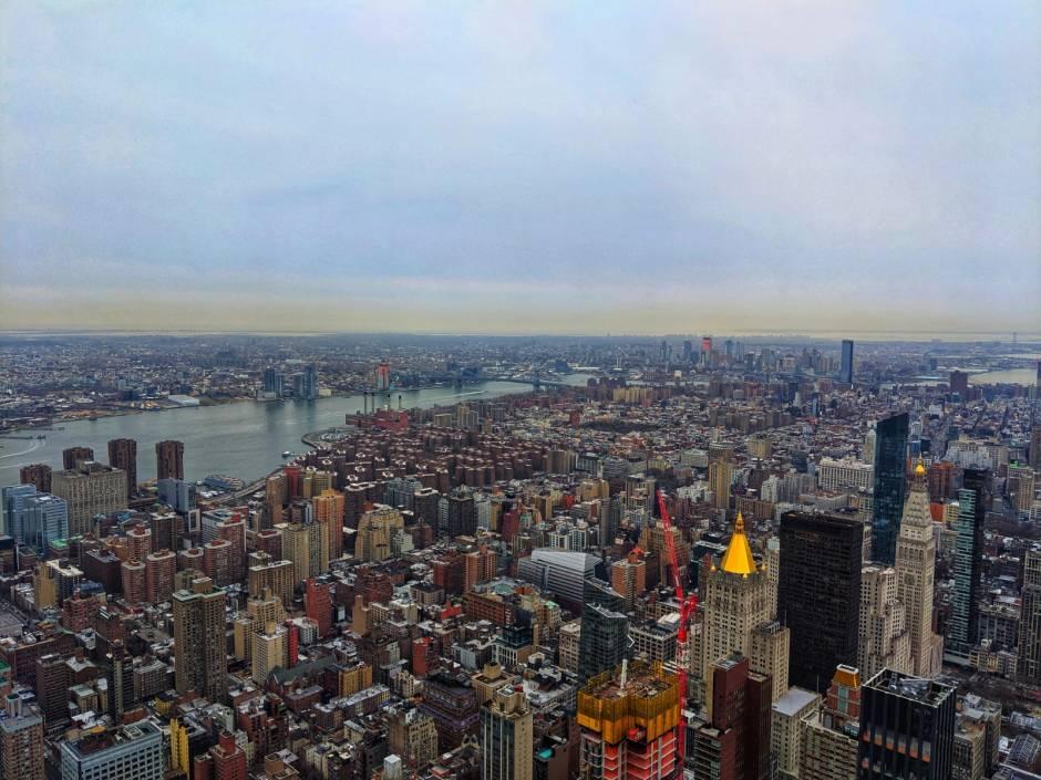 New York City skyline Empire State Building